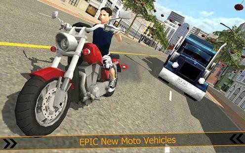 愤怒的城市摩托赛车手游戏