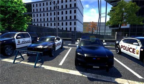 巡逻警察工作模拟器游戏