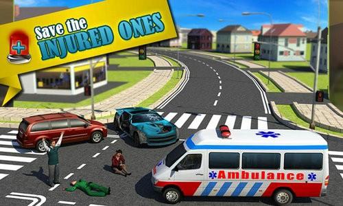 救护车急救模拟器游戏