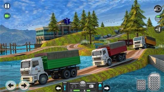 新印度人货物卡车模拟器手机版