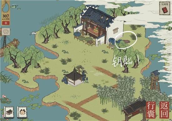 江南百景图杭州府探险第一章宝箱在哪 江南百景图杭州府探险第一章宝箱位置