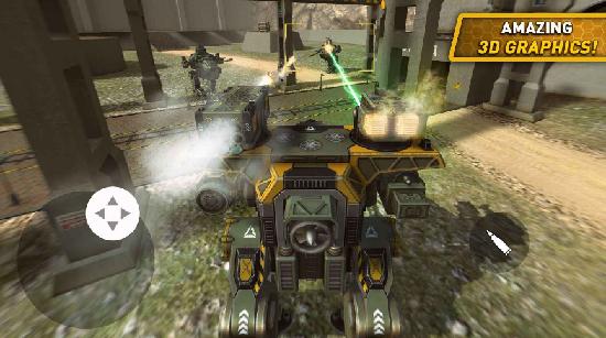 战争机器人世界内购破解版下载
