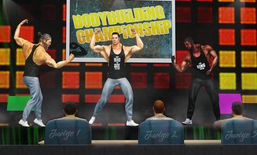 健身格斗游戏