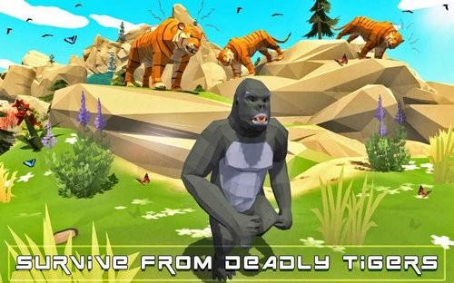 野生大猩猩模拟器下载