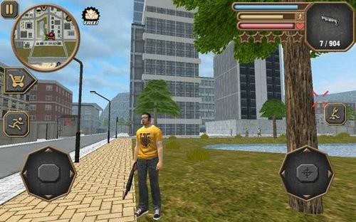 城市盗窃模拟器游戏