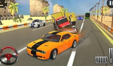 公路赛车2021交通快速赛车游戏