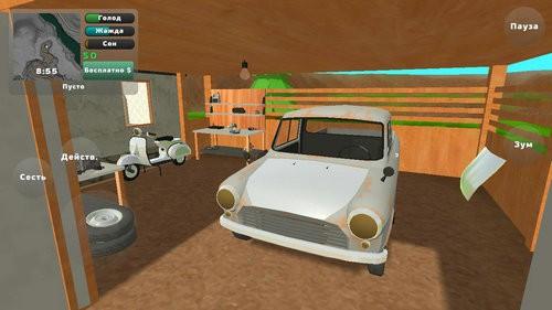 老式皮卡车模拟器游戏