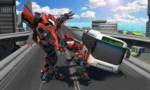 城市机器人战斗游戏