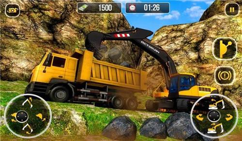 挖掘机驾驶模拟中文版下载