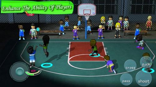 口袋篮球联盟破解版无限金币