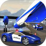 警察飞机运输车