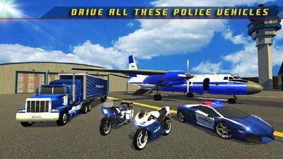 警察飞机运输车下载