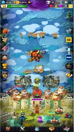 英雄防御城堡游戏