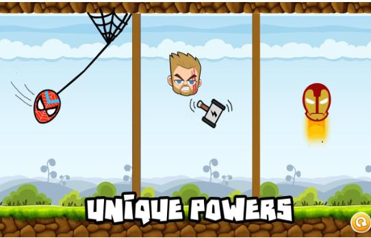 愤怒的超级英雄游戏下载