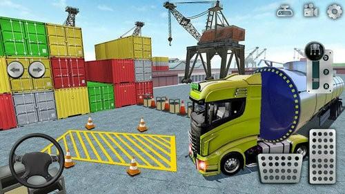 卡车停车模拟器