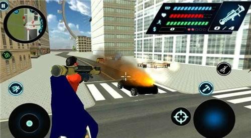 飞翔英雄3d