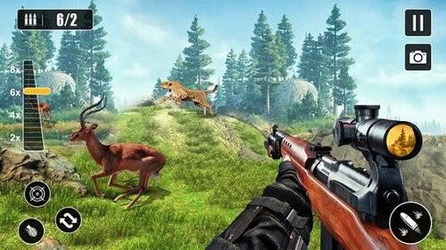 狙击手动物狩猎