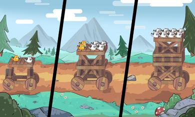 猫和机器空中防御破解版