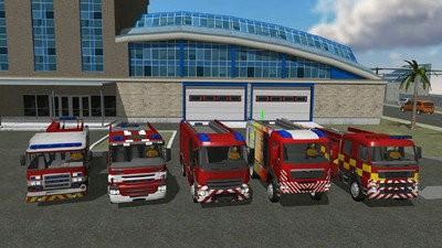 城市消防车模拟器下载