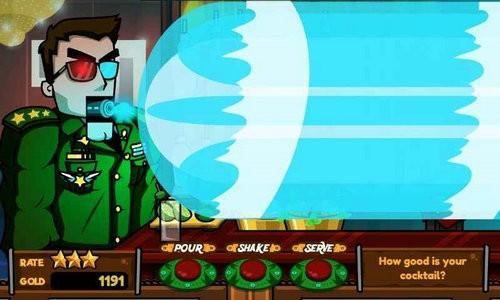 调酒师模拟器游戏
