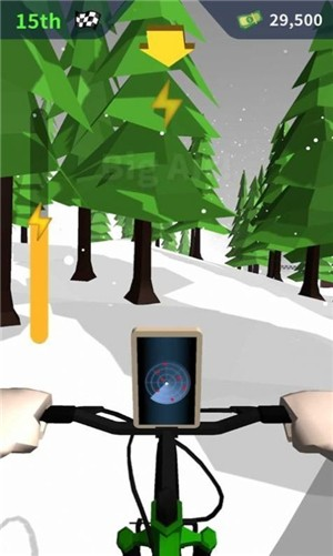 山地自行车对决破解版