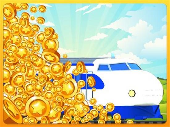 火车收集放置大亨无限金币版