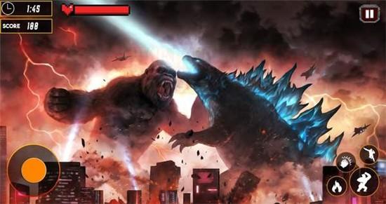 哥斯拉粉碎之城破解版