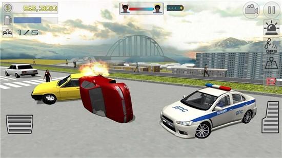 交通警察模拟器3D中文破解版