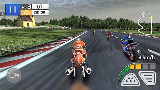 真实摩托竞赛3D破解版下载