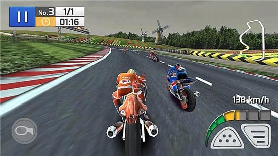 真实摩托竞赛3D无限金币版下载