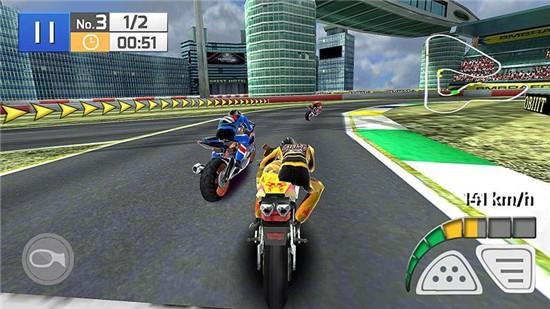 真实摩托竞赛3D无限金币版