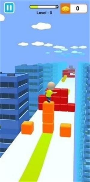果冻块冲浪3D游戏