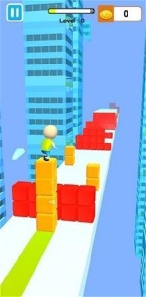 果冻块冲浪3D手机中文版