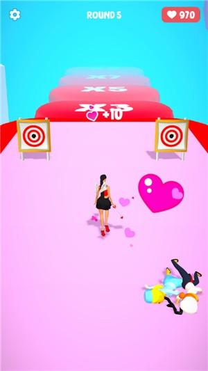 恋爱射箭3D游戏