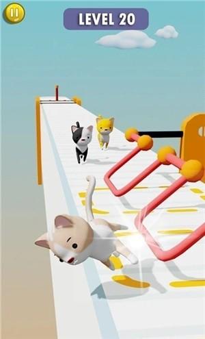猫咪障碍赛3D破解版