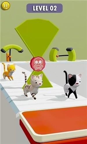 猫咪障碍赛3D安卓破解版下载