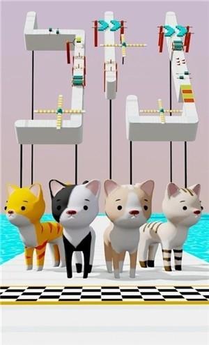 猫咪障碍赛3D破解版下载