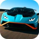 高速超级跑车自由驾驶模拟器